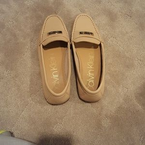 Calvin Klein Champagne Loafers